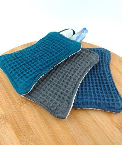 Eponge lavable coton