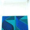 Sac à vrac wax bleu vert