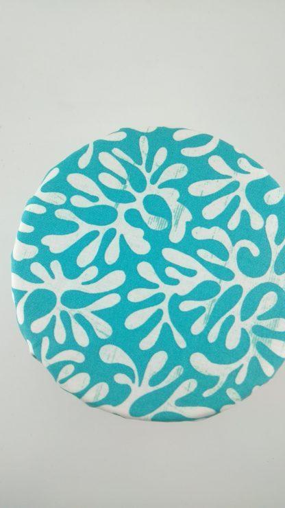 Charlotte à saladier corail turquoise