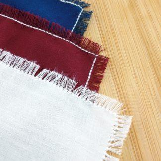 Mouchoirs lavables en coton