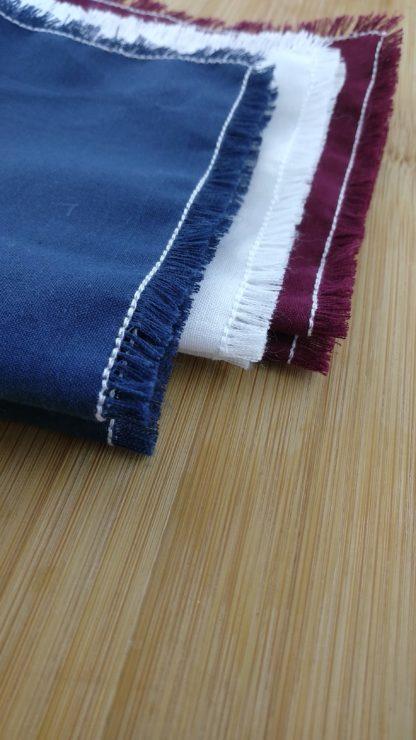 Mouchoirs lavables en coton zoom