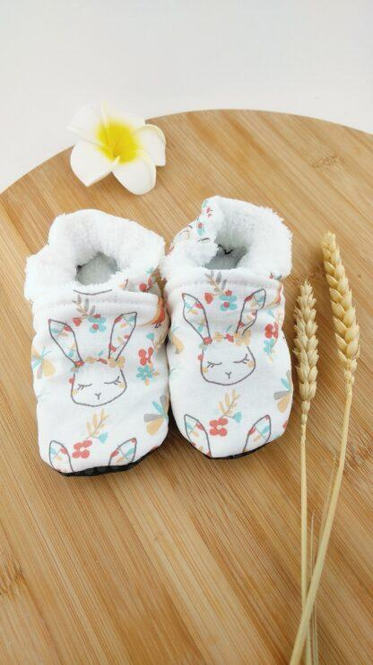 chaussons lapins