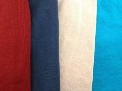 Tissus pour chaussons souples bébé personnalisables, rouge, bleu marine, beige ou turquoise
