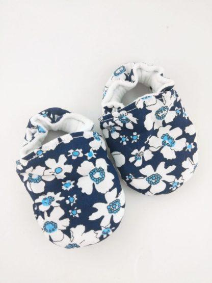 chausson-souple-fleurs-dezoom