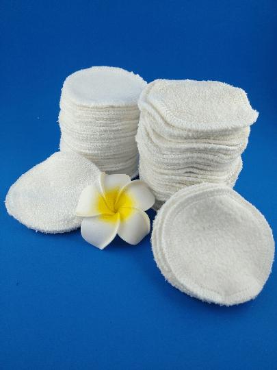 Lot de cotons démaquillants en bambou ou coton